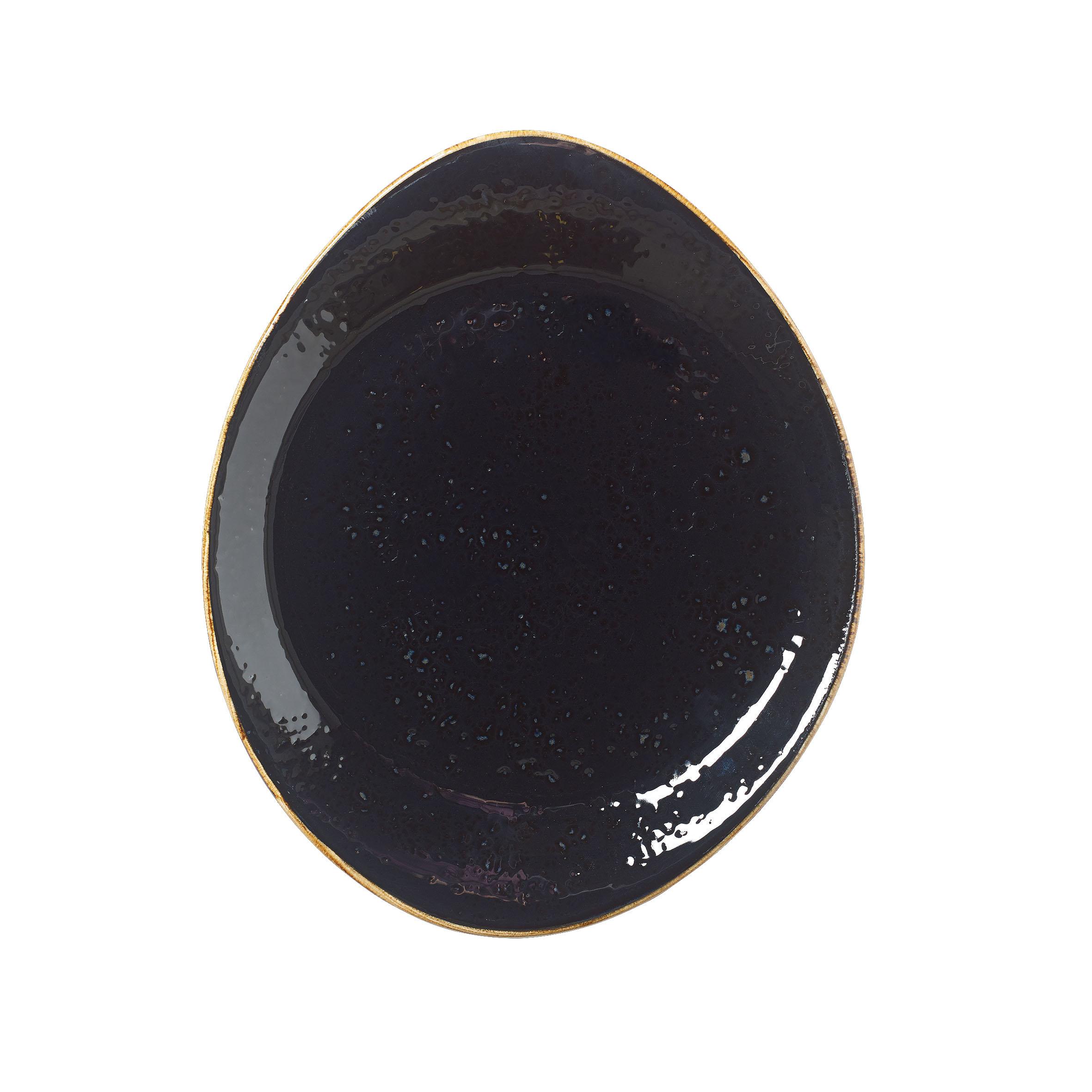 Steelite Teller Freestyle 25 cm Craft Liquorice